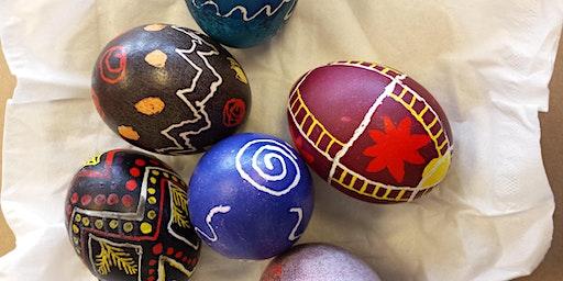 Ukrainian Egg Decorating