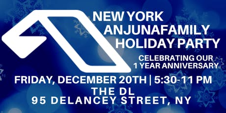 New York Anjunafamily Holiday Party tickets
