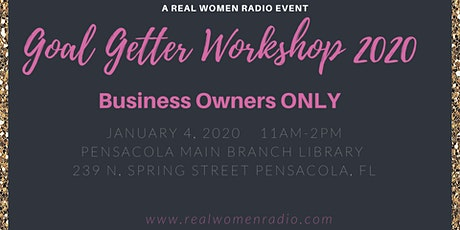 Goal Getters Workshop tickets