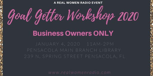 Goal Getters Workshop