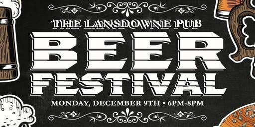 The Lansdowne Pub Beer Festival!