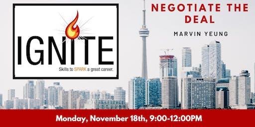 Ignite: Negotiate the Deal