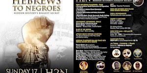 Hebrews to Negroes - Film Seminar, Q&A, Talks,...