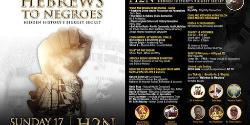 Hebrews to Negroes - Film Seminar, Q&A, Talks, Exhibition & Entertainment