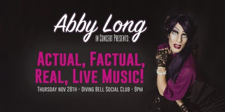 Abby Long in Concert: Actual, Factual, Real, Live Music! tickets