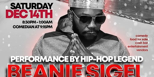 CHRISTMAS IN THE BEAN FEATURING HIP HOP LEGEND BEANIE SIGEL