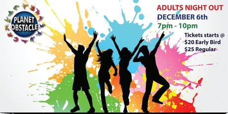 Adults Night-Out at Planet Obstacle tickets