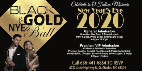 Black & Gold NYE Ball tickets