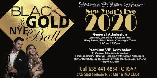 Black & Gold NYE Ball