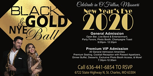 Black & Gold NYE Ball