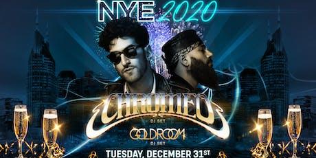 CHROMEO - New Year's Eve at Nashville Underground tickets