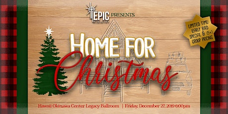 """EPIC Christmas Banquet 2019: """"Home For Christmas"""" tickets"""