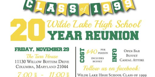 Wilde Lake 20th Year Reunion