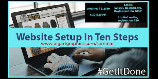 Website Setup in Ten Steps