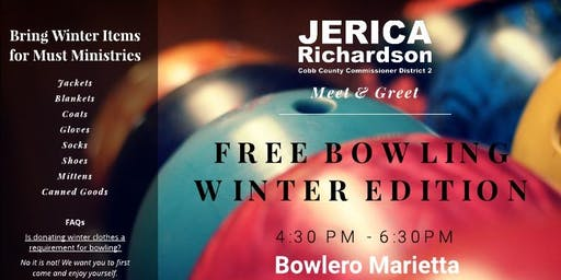 Free Bowling Winter Edition