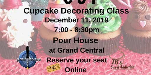 Ladies Night Out Cupcake Decorating (Christmas Edition)