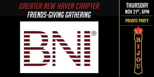 Greater NH BNI Friends-giving Gathering
