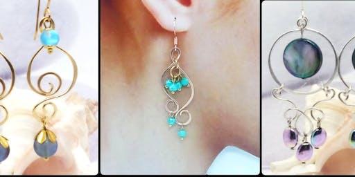 Qute Simple Wire Earrings - Jewelry Making