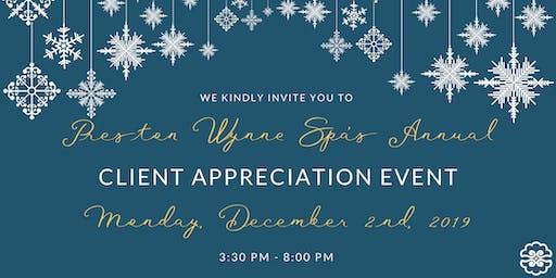 CLIENT APPRECIATION VIP TICKETS & RSVP TO WYNNE