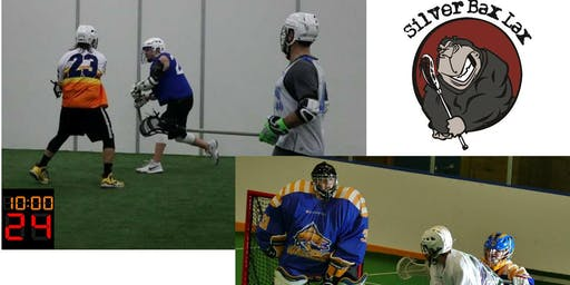 NOVEMBER 2019 SILVER BAX LAX mens pick up 4v4 Box lacrosse 1.5 Hrs