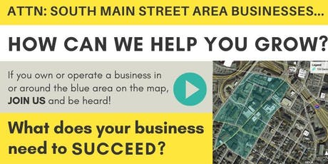 S Main Street/Downtown Small Business Gathering tickets