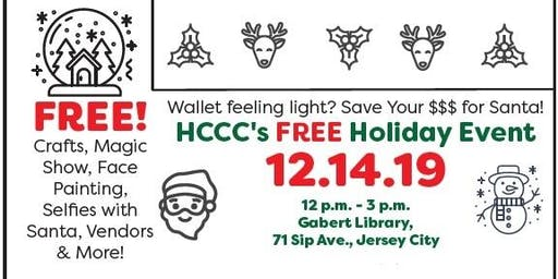 HCCC Holiday Event AND Online Pop Up Shop