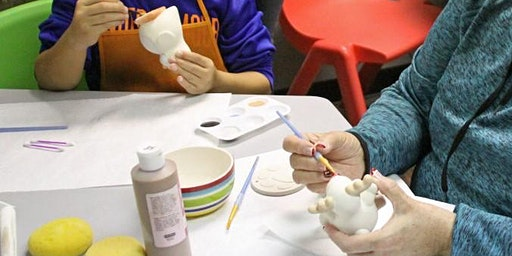 Paint Your Own Ceramic - Open Studio 12-5