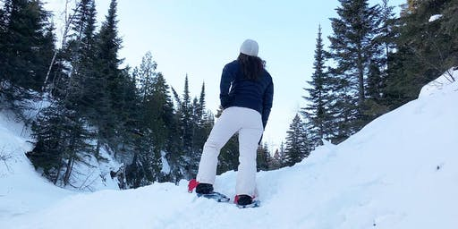Snowshoe At Section 13 Cliffs