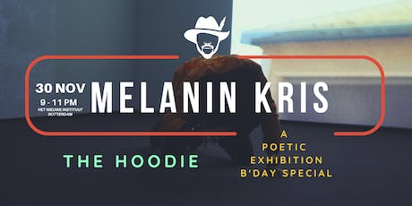 A pop-in poetic exhibition x B'Day special curated by Melanin Kris tickets