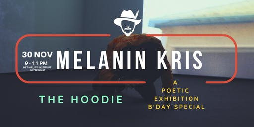 A pop-in poetic exhibition x B'Day special curated by Melanin Kris
