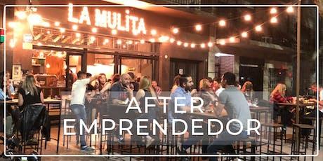 AFTER EMPRENDEDOR +NETWORKING VINCULAR VILLA DEVOTO entradas