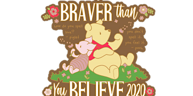 2020 Braver Than You Believe 1M, 5K, 10K, 13.1, 26.2 -Honolulu