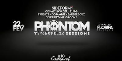 Phantom Psy Sessions | Enterro dos Ossos c/ Sideform - Praia da Joaquina