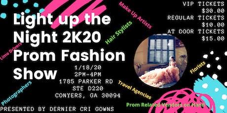 Light Up the Night Prom 2020 Fashion Show - Dernier Cri Gowns tickets