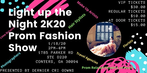 Light Up the Night Prom 2020 Fashion Show - Dernier Cri Gowns
