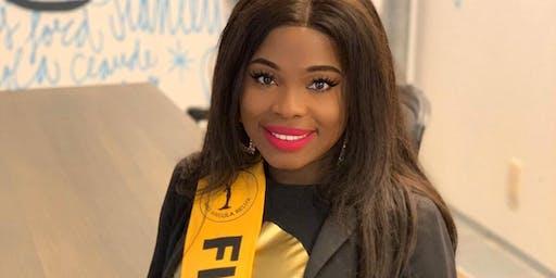 Voter nr ° 8 finalista Esperança Capela - Miss Angola Belux 2019