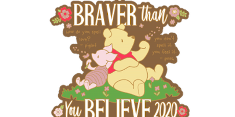 2020 Braver Than You Believe 1M, 5K, 10K, 13.1, 26.2 -Paterson tickets