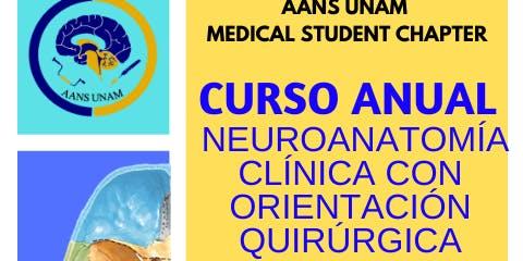 CURSO ANUAL DE NEUROANATOMÍA CLÍNICA CON ORIENTACIÓN QUIRÚRGICA