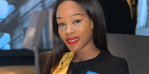 Voter nr ° 9 finaliste Maria Moises - Miss Angola Belux 2019