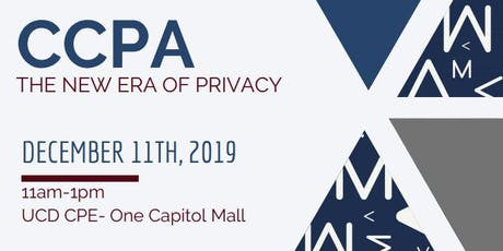 CCPA (California Consumer Privacy Act) tickets