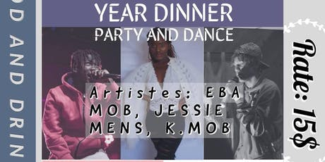 GHANAIAN-CANADIAN YOUNG ADULTS END-OF-YEAR DINNER/DANCE PARTY tickets