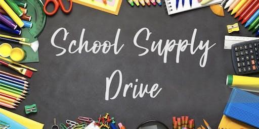 San Antonio NPHC Replenish School Supply Drive Jan 2020