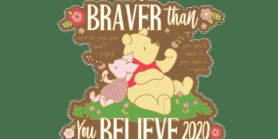 2020 Braver Than You Believe 1M, 5K, 10K, 13.1, 26.2 -El Paso