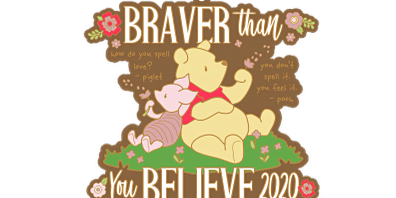 2020 Braver Than You Believe 1M, 5K, 10K, 13.1, 26.2 -Green Bay