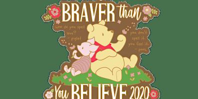 2020 Braver Than You Believe 1M, 5K, 10K, 13.1, 26.2 -Green Bay