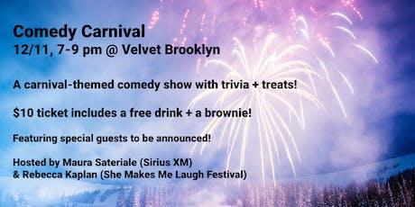 Comedy Carnival at Velvet Brooklyn tickets