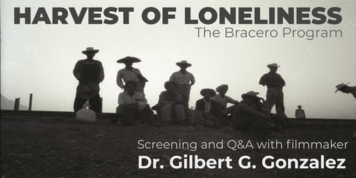Harvest of Loneliness Screening and Filmmaker Q&A