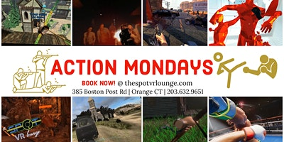 Action Mondays- Virtual Reality Single and Multi player Fighting Games