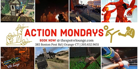 Action Mondays- Virtual Reality Single and Multi player Fighting Games tickets