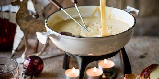 Fondue Friday! - we know, it's cheesy!